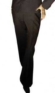 Prestige Diffusion - Pantalon Droit Femme - Coloris Noir