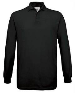 Prestige Diffusion - Polo Manches Longues - Noir