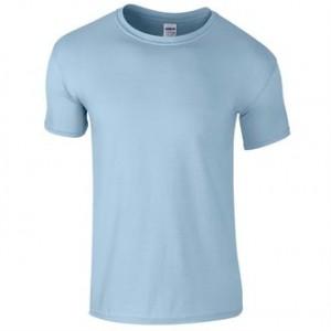 Prestige Diffusion - Tee-Shirt Manches Courtes 140g - Bleu Ciel