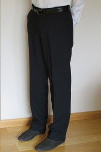 Prestige Diffusion - Pantalon Droit - Coloris Noir Rayé