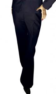 Prestige Diffusion - Pantalon Droit Femme - Coloris Marine
