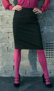 Prestige Diffusion - Jupe Droite - Coloris Noir