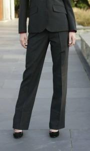Prestige Diffusion - Pantalon Droit Femme - Coloris Anthracite