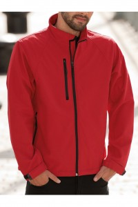Prestige Diffusion - Gilet Softshell Manches Longues - Rouge